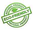 Eco-Friendly Label