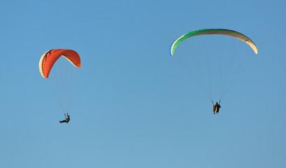 Hang gliders at Torrey Pines