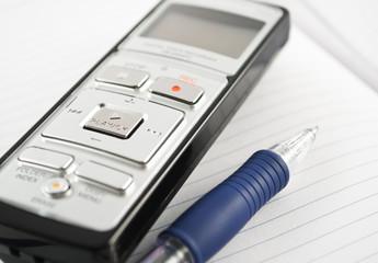 digital voice recorder with pencil