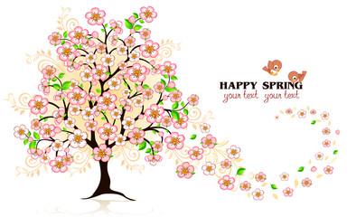 Albero Happy Spring