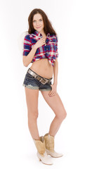 Cowgirl Standing