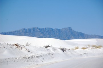 White Sands road