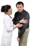 Herzinfarkt-Symptom poster