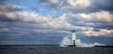 Frankfort North Breakwater Lighthouse Michigan