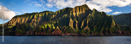 Rugged Na Pali Coast located on Kauai, Hawaii, USA.