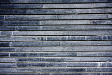 Stare czarno-białe ściany