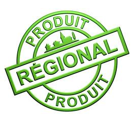 """""""Produit Régional"""" Label (vert)"""