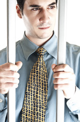 Business man in jail