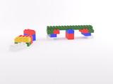 Lego blocchi a colori poster