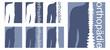 Orthopädie Logo blau weiß