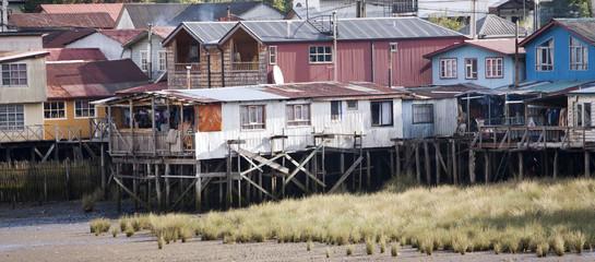 Palafito houses