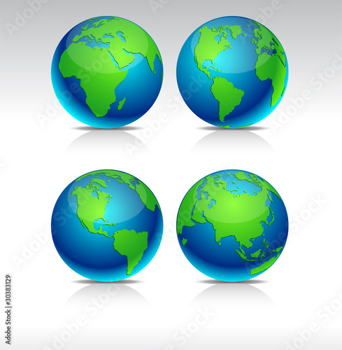 Blue Earth balls.