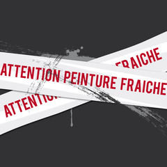 attention peinture fraiche
