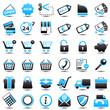icon: shopping Blue