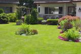 Manicured Spring Summer Home garden - Fine Art prints