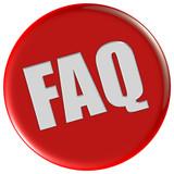 Button rot rund FAQ