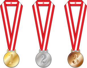 canada medal medaglia medaglie