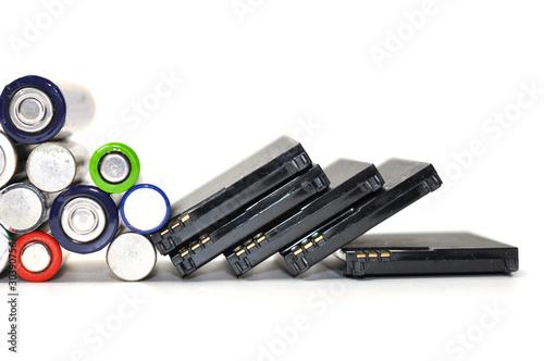 Batterien von Handy entsorgen