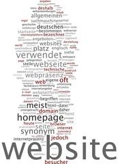 Website / Webseite