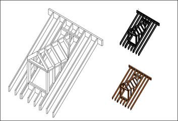 construction roof dormer