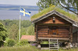 blockhütte in schweden