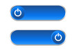 Botón azul on / off