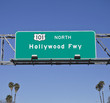101 Hollywood Fwy with Palms