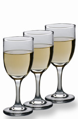 .Copas de vino Blanco