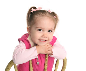 Cute little toddler girl