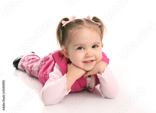 Cute little toddler girl