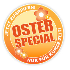 Ostern Button Angebot Special