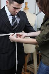 un costume sur mesure