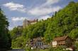 Leinwanddruck Bild - Burg Rabenstein