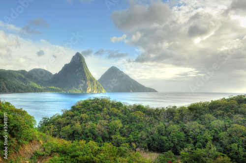 Aluminium Caraïben Pitons - St. Lucia / Saint Lucia (Carribean)