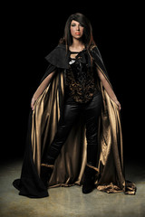Female Vampire Standing