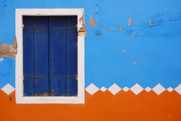 finestra - burano - venezia