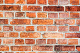The Wall of Wawel Castle. Aged brick wall poster