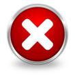 Button Kreuz Abbrechen