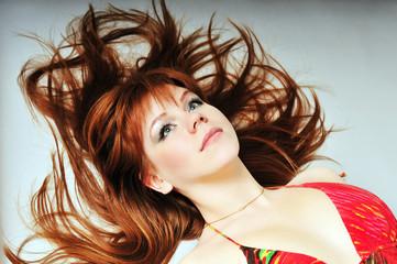 redheaded portrait
