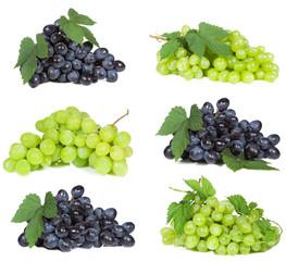 set with grape