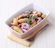 Ingredients for potato casserole