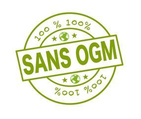 """Tampon """"100 % sans OGM"""""""