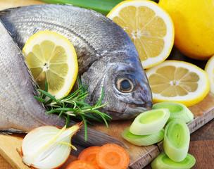 Fisch, Gemüse