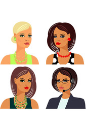 hairstyles makeup and accessories