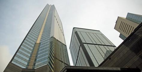 China, Central  Hong  Kong  skyscrapers
