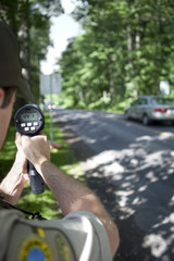 Radar speed trap