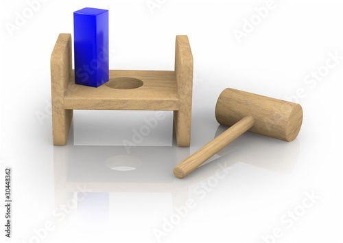 Square Peg in the Round Hole