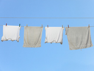 Underclothes drying