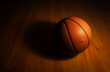 Basketball with spot light