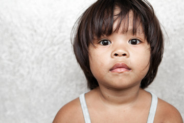 Asian girl portrait - Philippine child